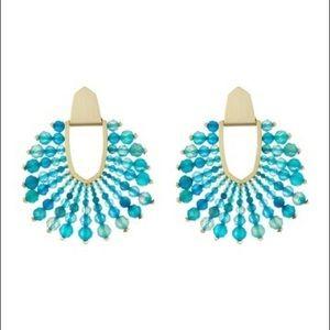 NWT Kendra Scott Diane Beaded Earrings